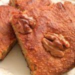 Безглютеновый кекс с грецкими орехами