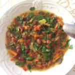Веганский фасолевый суп